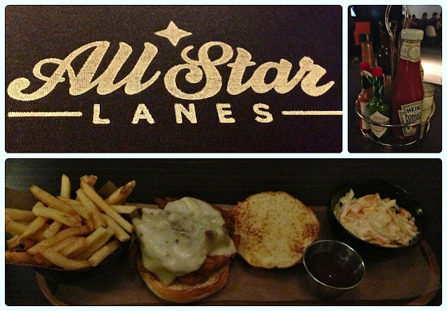 All Star Lanes, Manchester - Fried Chicken