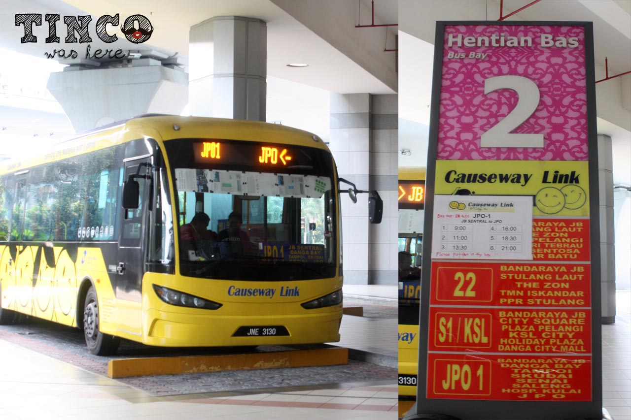 bus Singapore to Legoland