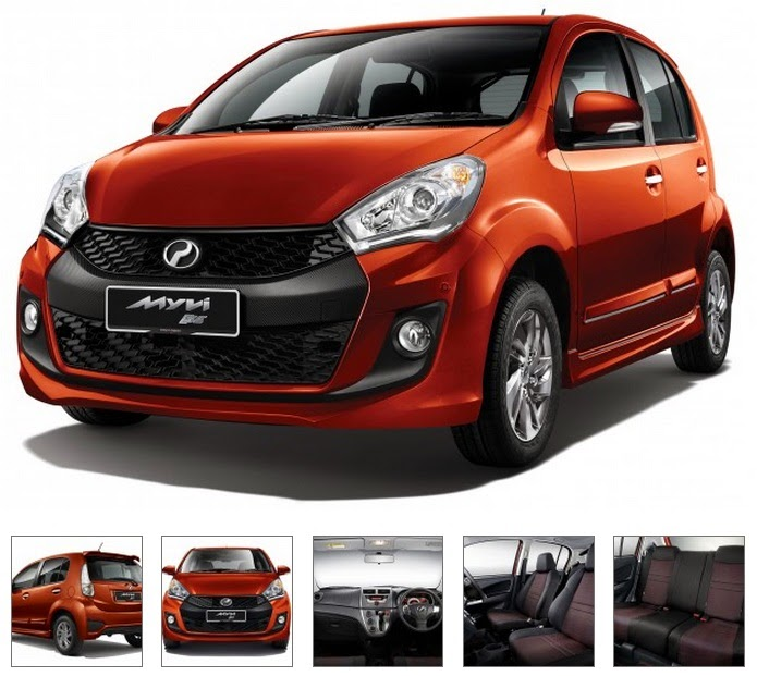 Model Perodua Myvi Baru (Facelift) 2015 - SE 1.5L (MT/AT)