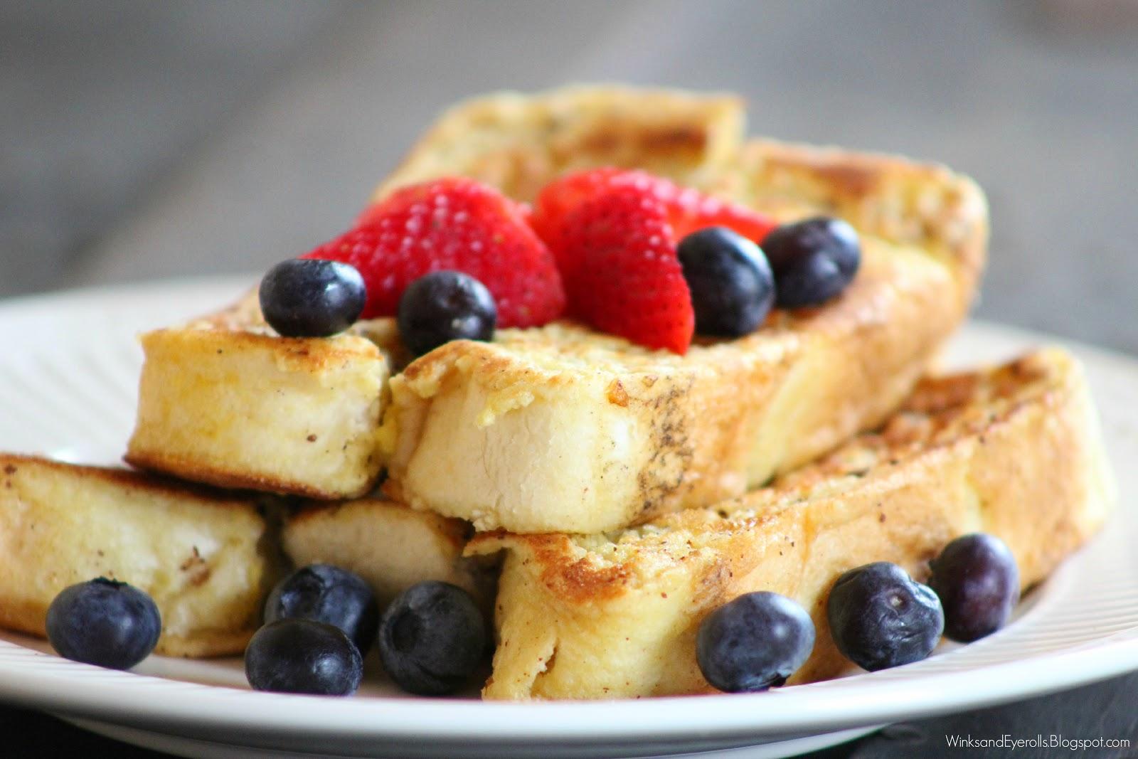 Homemade French Toast Sticks