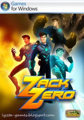 Zack Zero PC Cover
