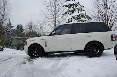 Range Rover Supercharged on 22 inch wheels