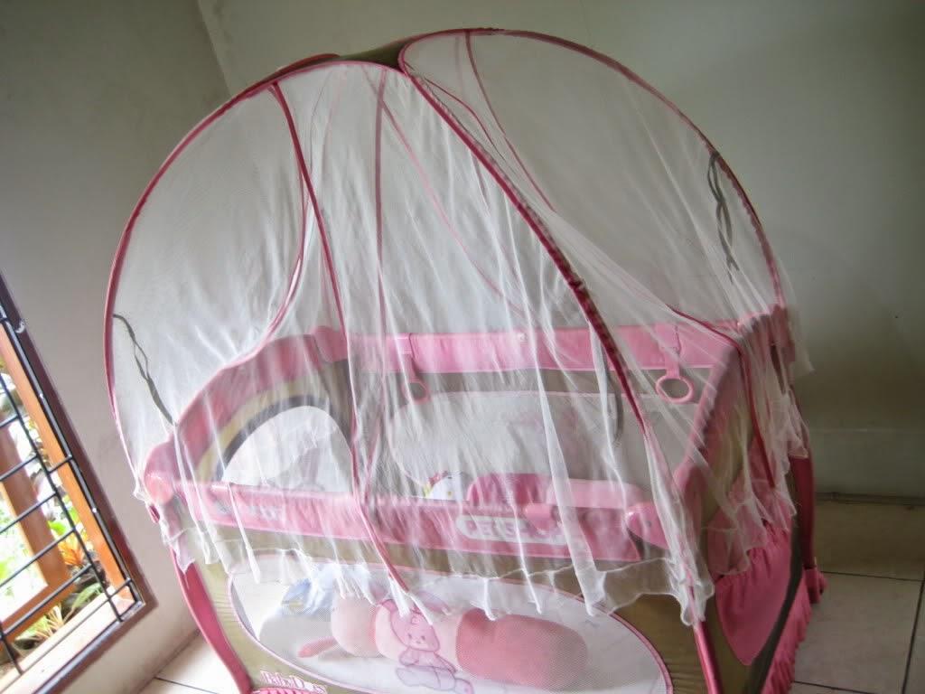 kelambu tempat tidur bayi