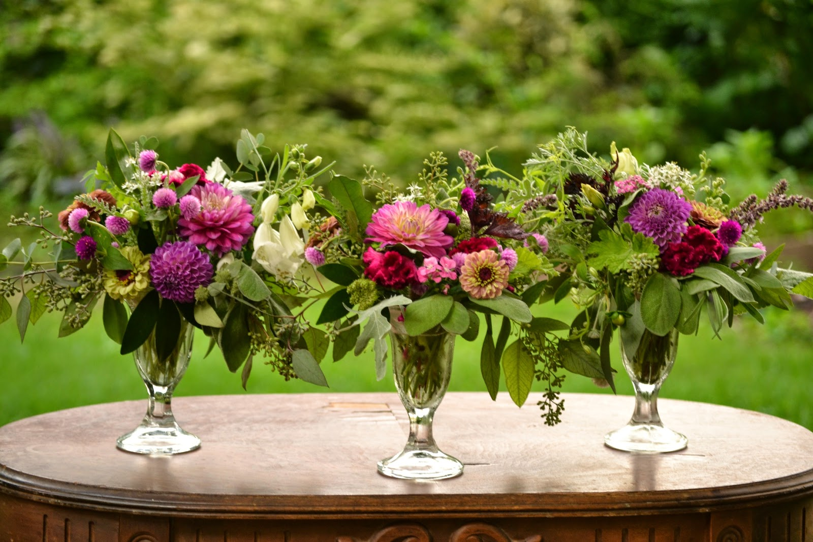 Wedding Flowers from Springwell: Sweet Centerpiece Designs for ...