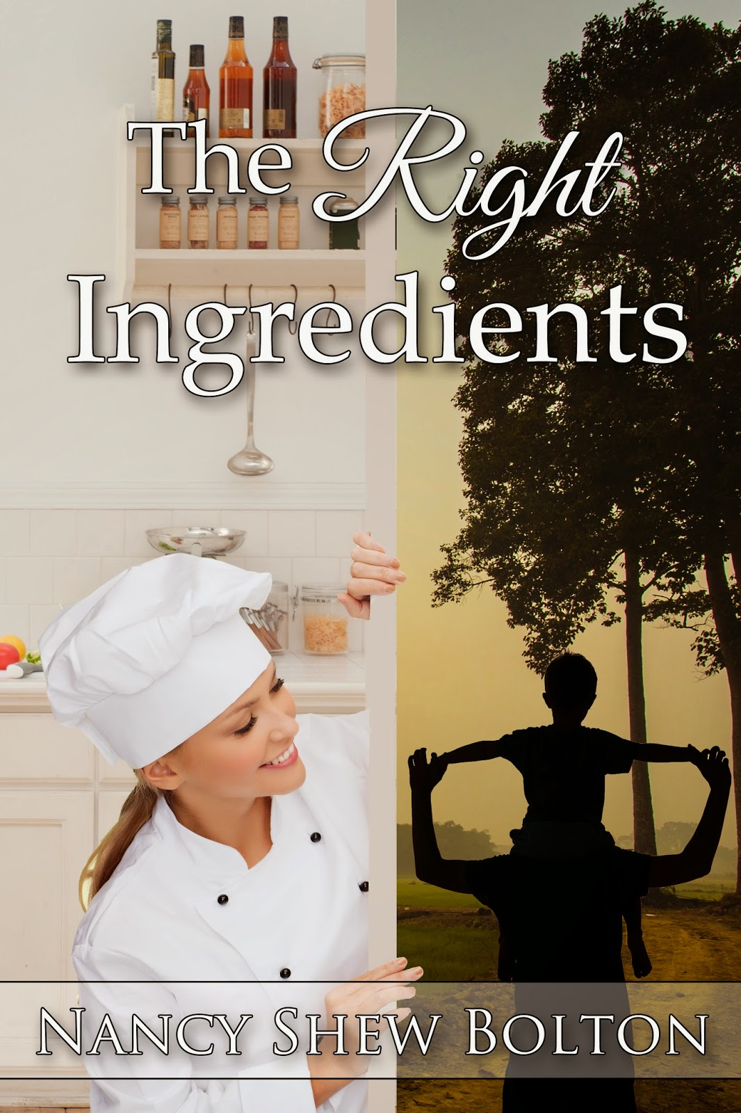 http://www.amazon.com/Right-Ingredients-Nancy-Shew-Bolton-ebook/dp/B00NR22X1C/ref=sr_1_1?ie=UTF8&qid=1412006823&sr=8-1&keywords=nancy+bolton