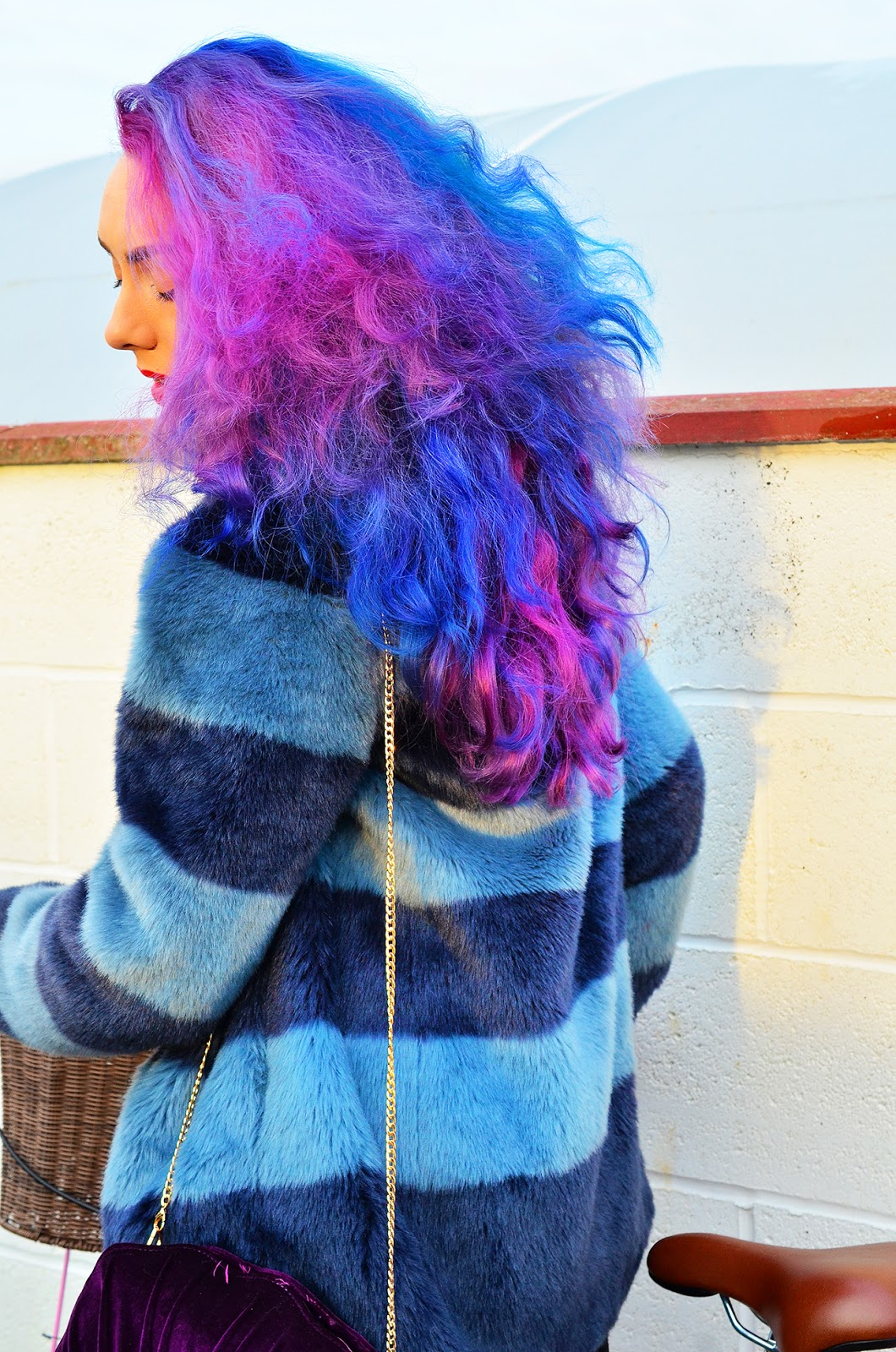 Blue Pink Purple Hair Stephi LaReine