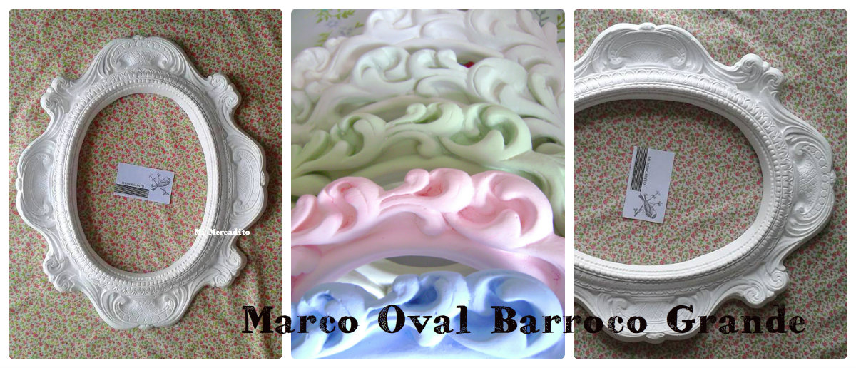 MARCO OVAL BARROCO GRANDE 48,5cm x 41cm