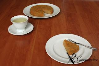 Gourmandise Torta de avelã e cenoura