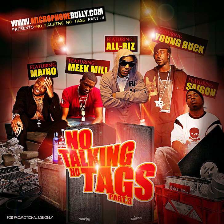 NO TAGS NO TALKING PT.3 TRACK 9 PRODUCED BY RAYDO RELEASED 2/10/12
