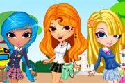School Game : Cutie Trend: School Style