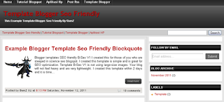 Download template super SEO friendly 2013