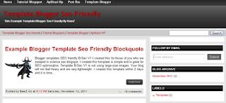 Download template super SEO friendly 2013