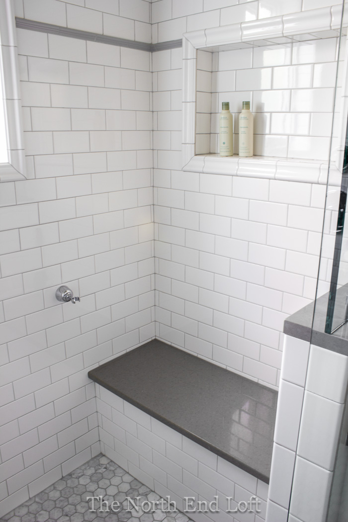 The North End Loft Master Bathroom Reveal