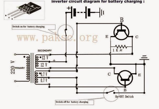 simple 50 watt 12 vdc to 220 vac power inverter