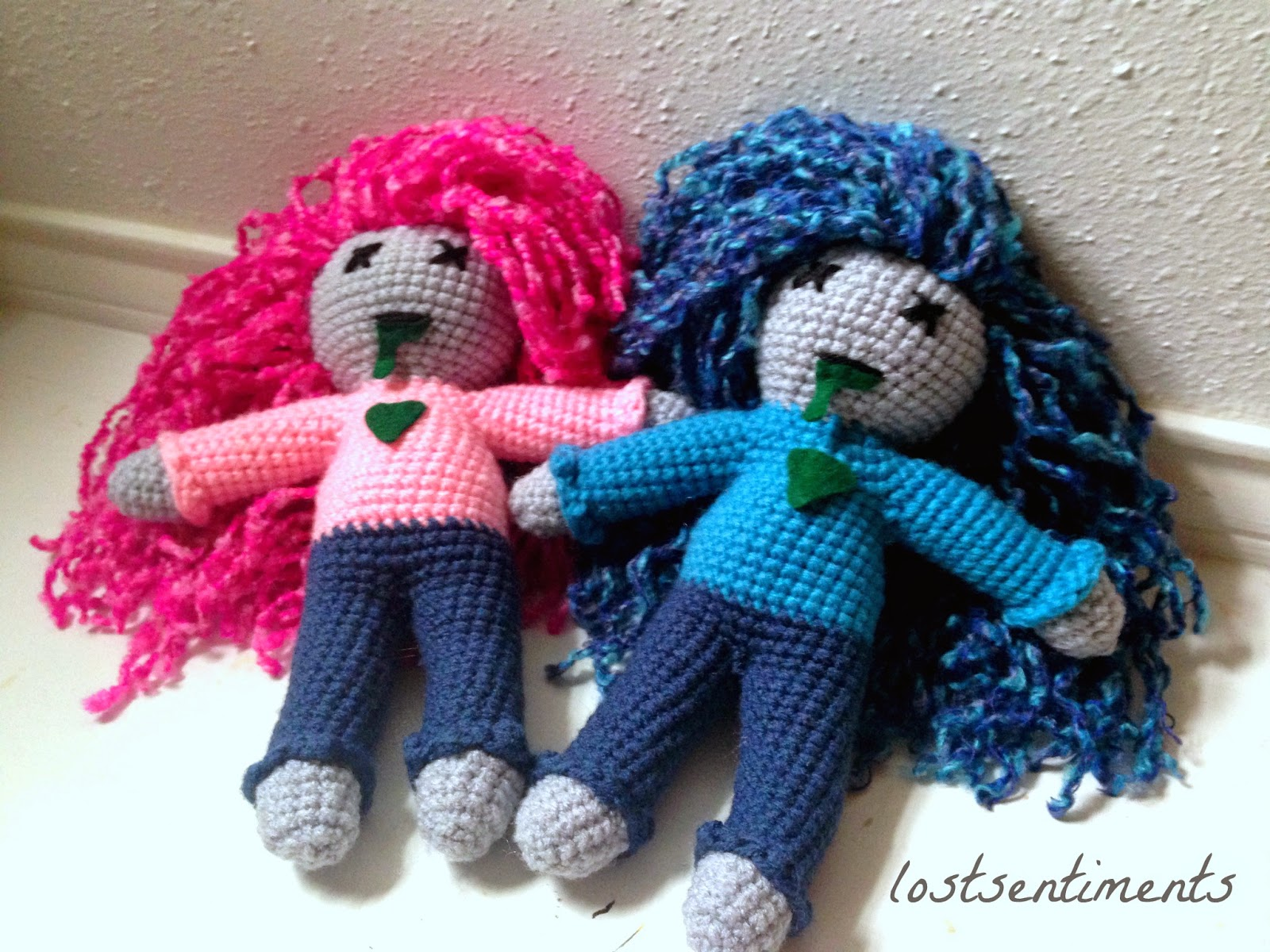 lostsentiments: Free Amigurumi Pattern for Body of Large Doll
