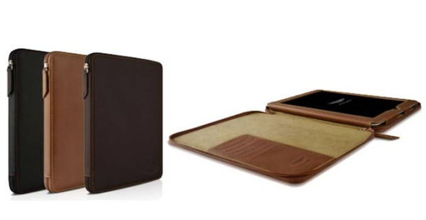 Aston Martin Folio BZ Leather iPad Case