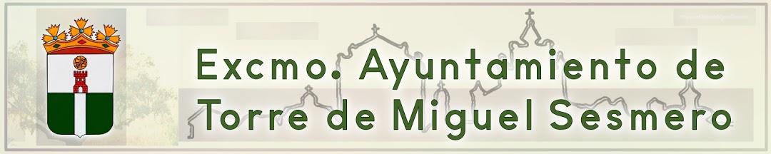 Ayuntamiento de Torre de Miguel Sesmero.