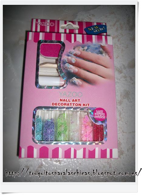 objetos nail art