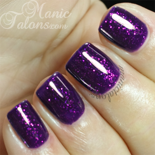 Madam Glam #071 Purple Sky Swatch