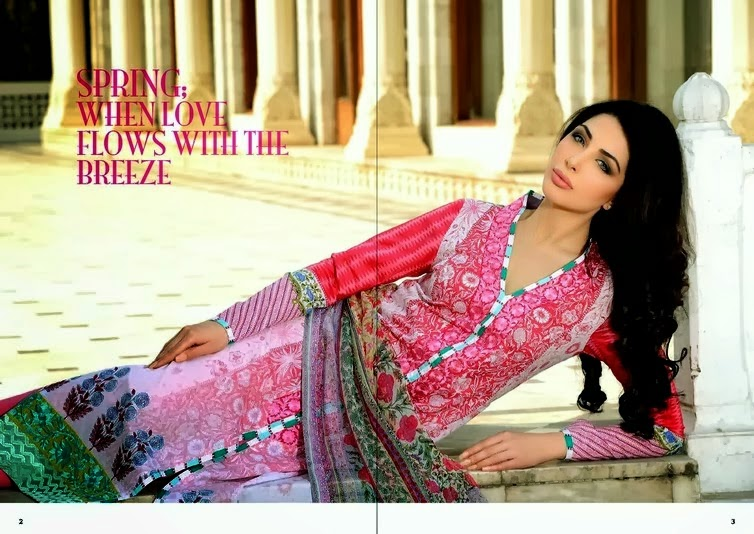 Sobia Nazir Latest Designer Lawn Collection 2014