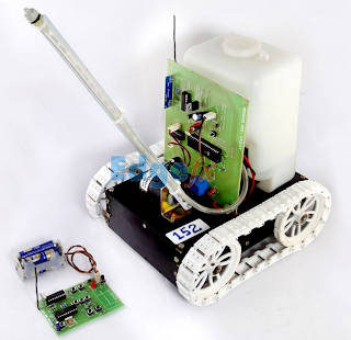 Fire Fighting Robotic Vehicle
