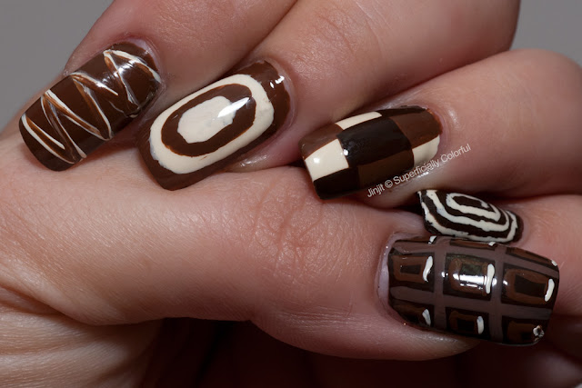 Chocolate Nail Art