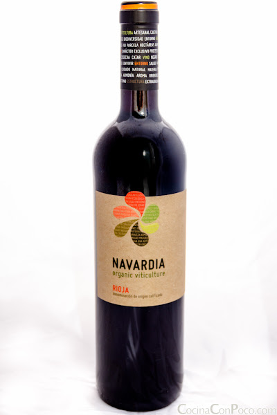 Navardia rioja tinto rødvin Bodegas Bagordi - CocinaConPoco.com