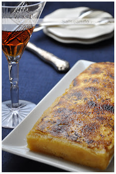 Torró de crema cremada - Turrón de yema tostada