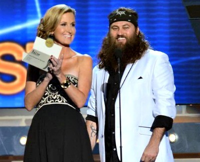 the robertsons en mass were seen on the acms this past sunday night