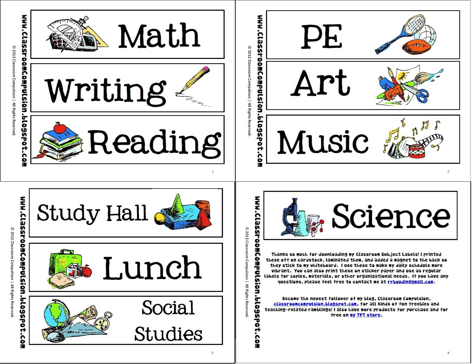 different subjects in college free sample of will writing