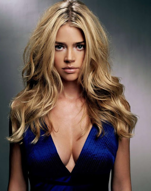 Denise Richards sexy in dress fashion