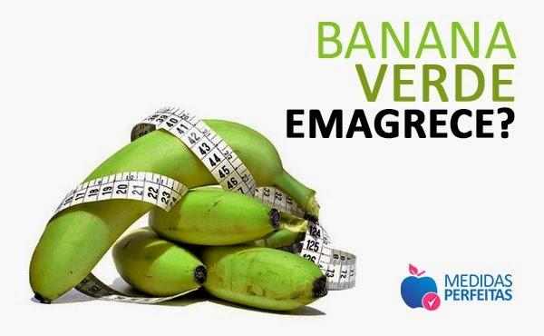 Banana Verde Emagrece - os Verdadeiros benefícios