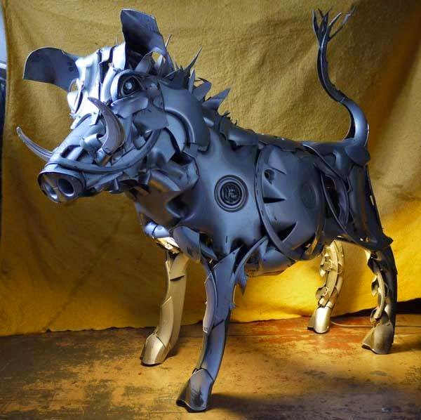 garden art sculptures | Animal sculpture for garden decoration