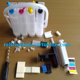 continuous ink system for canon printer