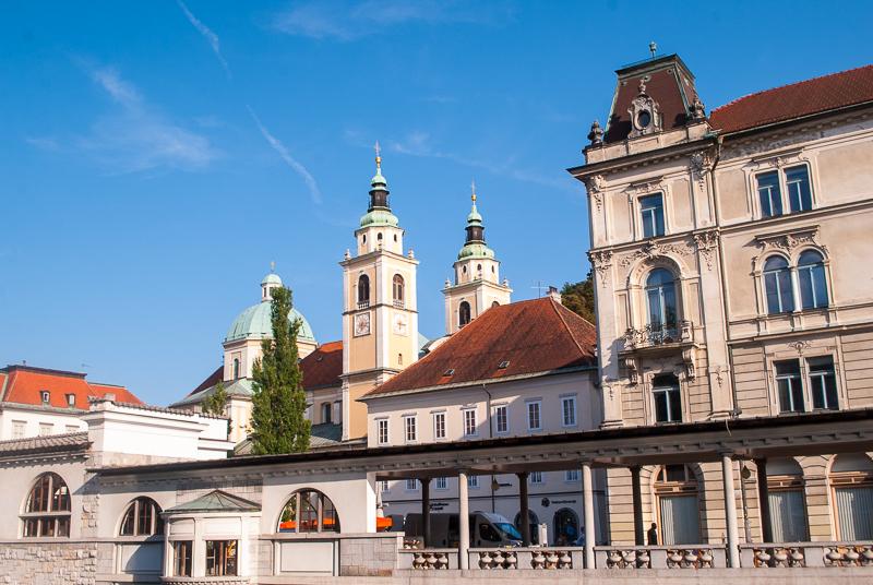 architecture in ljubljana, slovenia