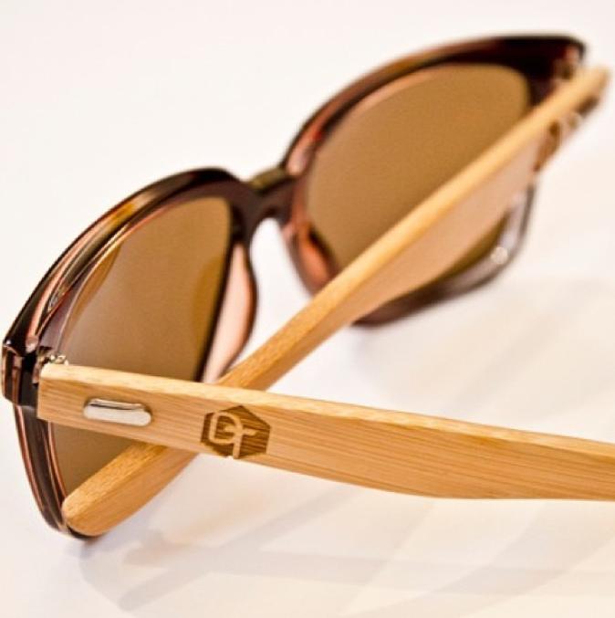 Wooden Frame Sunglasses