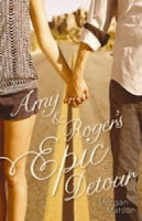 Amy and Roger's Epic Detour Morgan Matson book cover
