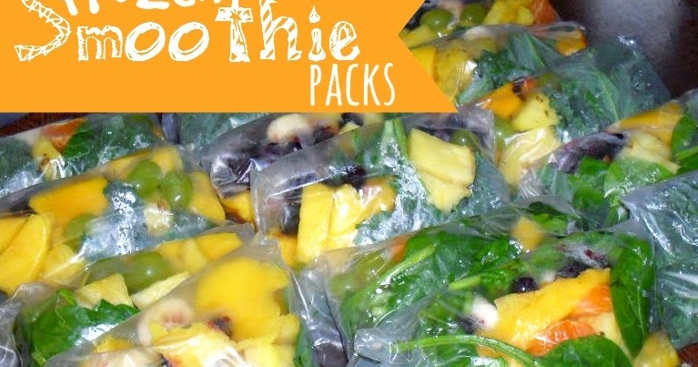 A Muslim Homeschool Grab And Go Frozen Smoothie Packs