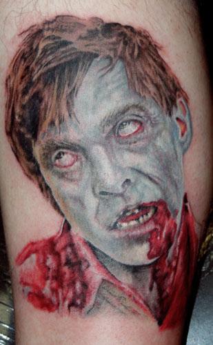 Tatuaje de zombie
