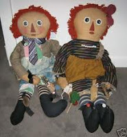 Ragady Ann & Andy antique dolls