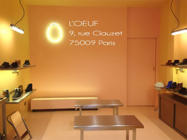 Boutique l'Oeuf Paris