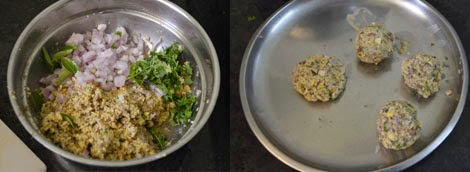how to make vazhaipoo vadai