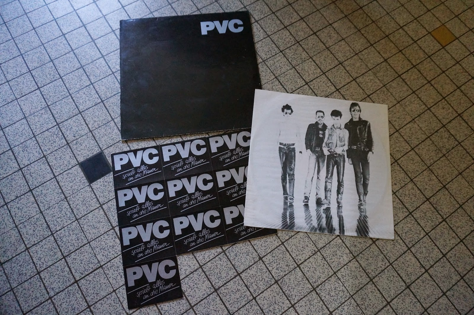 PVC - Can't escape - Berlin by night - 1982  Punk band from Berlin, Germany deutsch