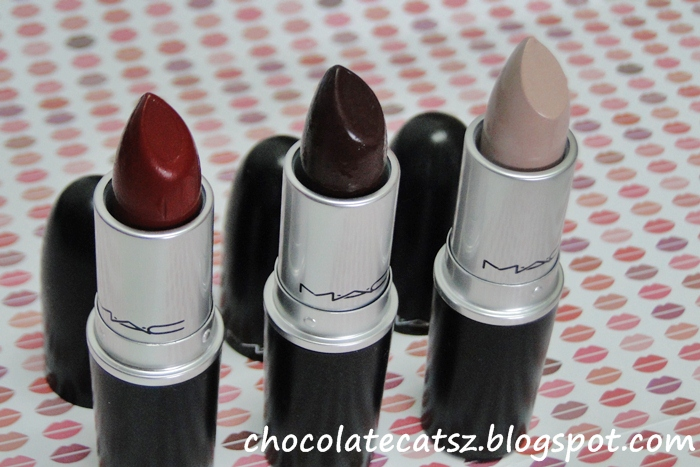 Chocolate Cats: MAC Me Over Lipsticks and Lipglasses Mac Lipstick Prince Noir