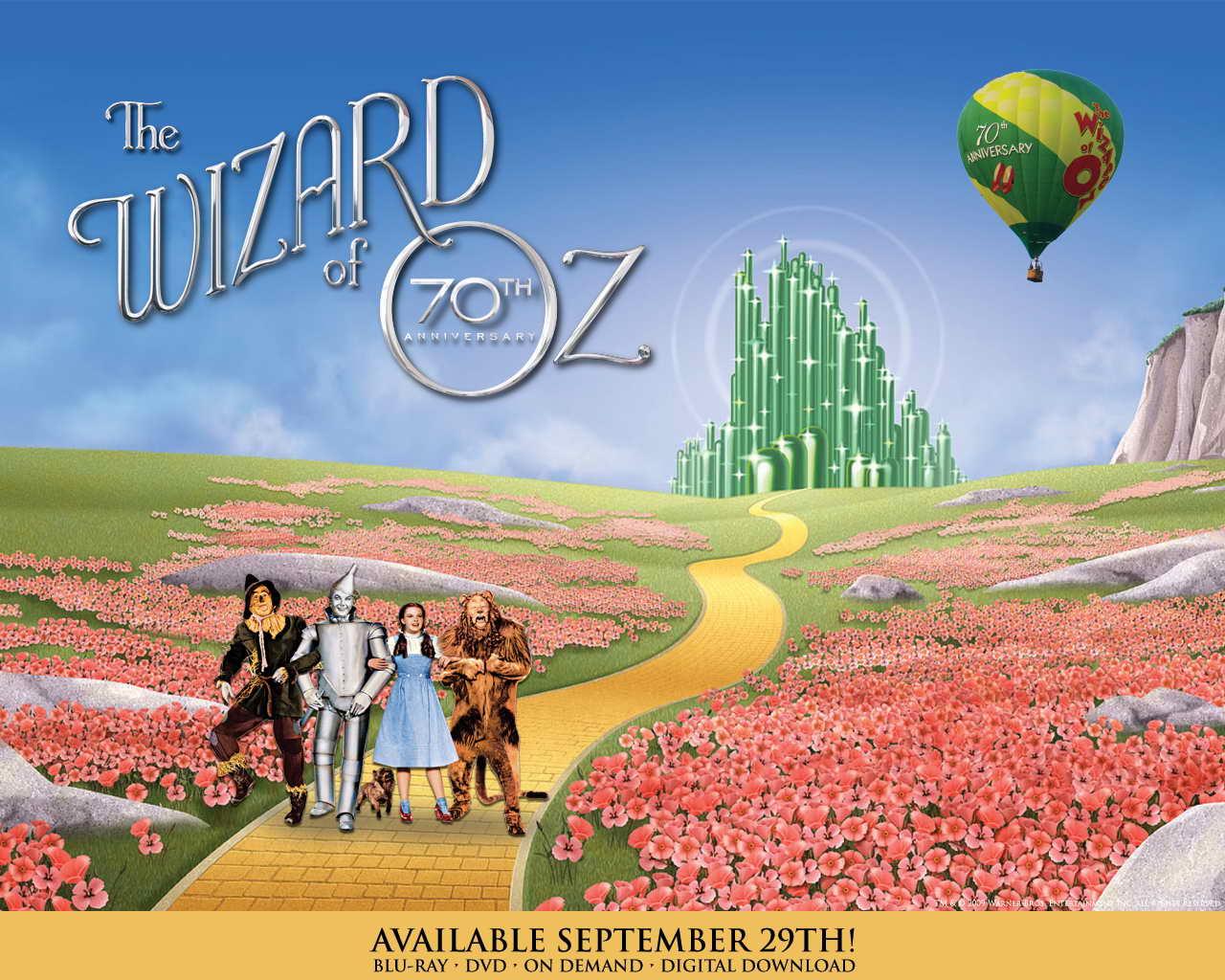 wizard of oz wallpaper border - photo #24