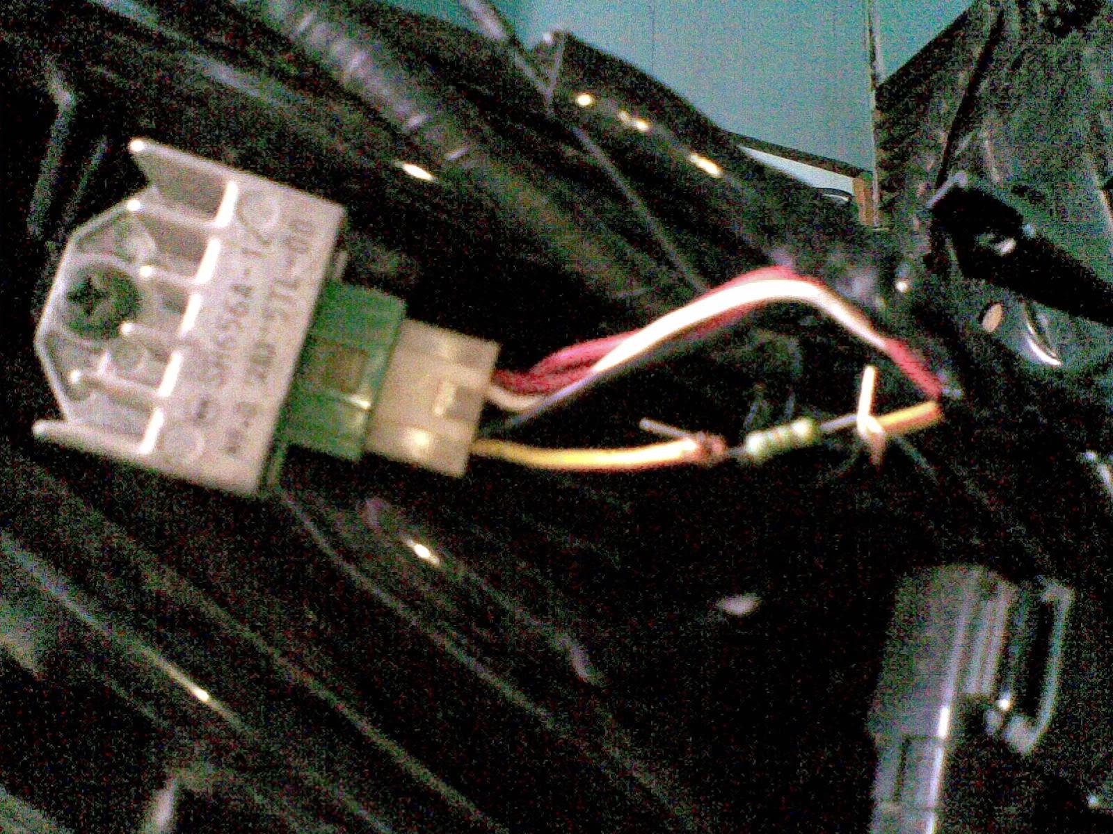 Cara Membuat Lampu Sepeda Motor Lebih Terang Dengan Resistor
