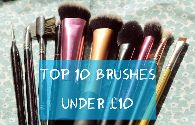 Top £10 brushes under £10