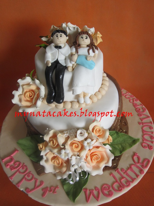 First Marriage Anniversary Cake Images : Mynata Cakes: Anniversary cake for Marlin