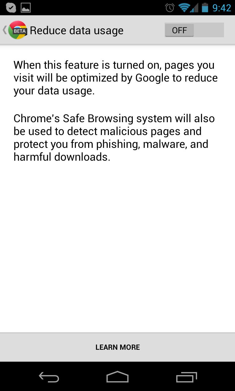 Chrome_beta_Reduce_Data_Usage