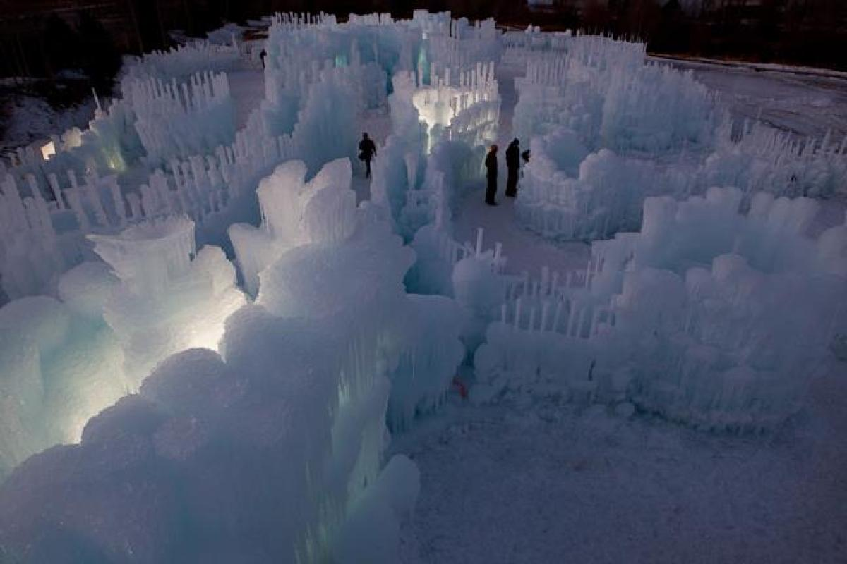 Ice Castle at Silverthorne, Colorado 2